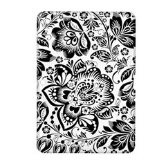 Black Floral Damasks Pattern Baroque Style Samsung Galaxy Tab 2 (10 1 ) P5100 Hardshell Case