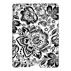 Black Floral Damasks Pattern Baroque Style Samsung Galaxy Tab S (10 5 ) Hardshell Case