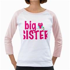 Big Sister Owl Girly Raglans