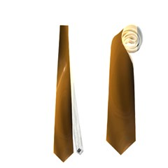 Shiny Silk Golden Neckties (Two Side)