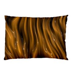 Shiny Silk Golden Pillow Cases (two Sides)