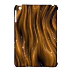 Shiny Silk Golden Apple iPad Mini Hardshell Case (Compatible with Smart Cover)