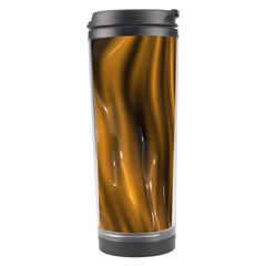 Shiny Silk Golden Travel Tumblers
