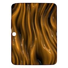 Shiny Silk Golden Samsung Galaxy Tab 3 (10.1 ) P5200 Hardshell Case