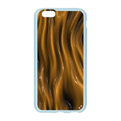 Shiny Silk Golden Apple Seamless iPhone 6/6S Case (Color)