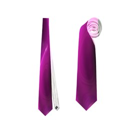 Shiny Silk Pink Neckties (Two Side)