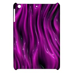 Shiny Silk Pink Apple iPad Mini Hardshell Case