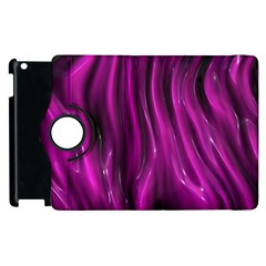 Shiny Silk Pink Apple iPad 3/4 Flip 360 Case