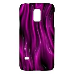 Shiny Silk Pink Galaxy S5 Mini