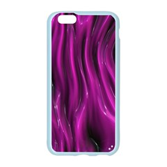 Shiny Silk Pink Apple Seamless iPhone 6/6S Case (Color)