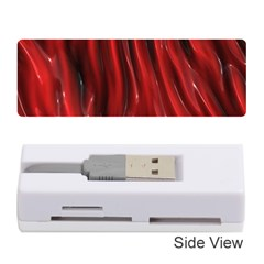 Shiny Silk Red Memory Card Reader (Stick)