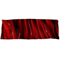 Shiny Silk Red Body Pillow Cases Dakimakura (Two Sides)