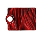 Shiny Silk Red Kindle Fire HD (2013) Flip 360 Case Front