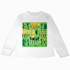 Lemons And Limes Kids Long Sleeve T-Shirts
