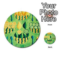 Lemons And Limes Multi Purpose Cards (round)