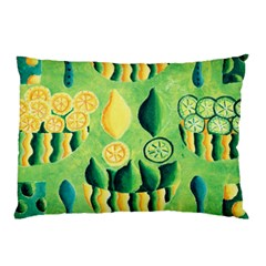 Lemons And Limes Pillow Cases