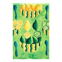 Lemons And Limes Shower Curtain 48  x 72  (Small)