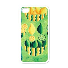 Lemons And Limes Apple iPhone 4 Case (White)