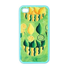 Lemons And Limes Apple iPhone 4 Case (Color)