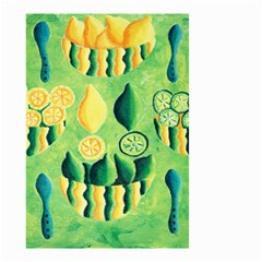Lemons And Limes Small Garden Flag (two Sides)