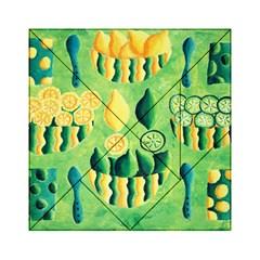 Lemons And Limes Acrylic Tangram Puzzle (6  x 6 )