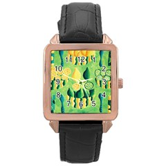 Lemons And Limes Rose Gold Watches
