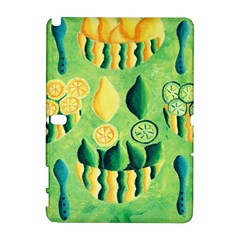 Lemons And Limes Samsung Galaxy Note 10.1 (P600) Hardshell Case