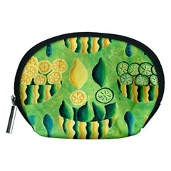 Lemons And Limes Accessory Pouches (Medium)