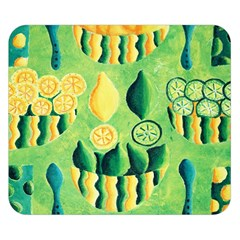 Lemons And Limes Double Sided Flano Blanket (Small)