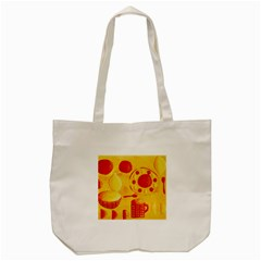 Lemons And Oranges With Bowls  Tote Bag (Cream)