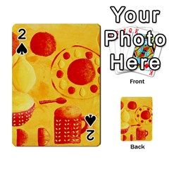 Lemons And Oranges With Bowls  Playing Cards 54 Designs