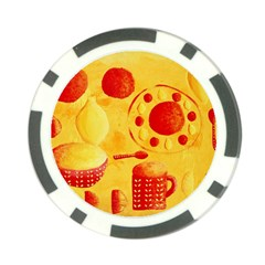 Lemons And Oranges With Bowls  Poker Chip Card Guards (10 pack)