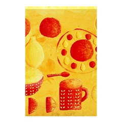 Lemons And Oranges With Bowls  Shower Curtain 48  x 72  (Small)