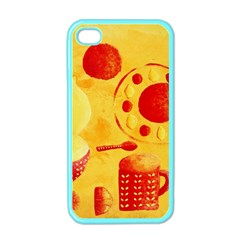 Lemons And Oranges With Bowls  Apple iPhone 4 Case (Color)