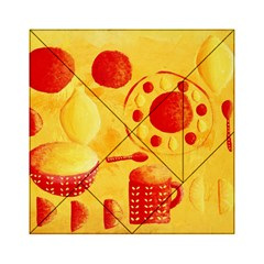 Lemons And Oranges With Bowls  Acrylic Tangram Puzzle (6  x 6 )