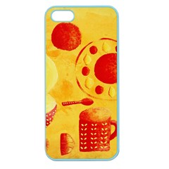 Lemons And Oranges With Bowls  Apple Seamless iPhone 5 Case (Color)
