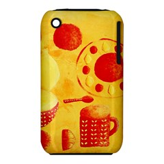 Lemons And Oranges With Bowls  Apple iPhone 3G/3GS Hardshell Case (PC+Silicone)