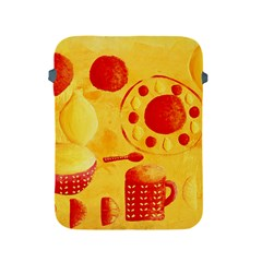 Lemons And Oranges With Bowls  Apple iPad 2/3/4 Protective Soft Cases