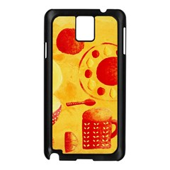 Lemons And Oranges With Bowls  Samsung Galaxy Note 3 N9005 Case (Black)