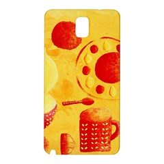 Lemons And Oranges With Bowls  Samsung Galaxy Note 3 N9005 Hardshell Back Case