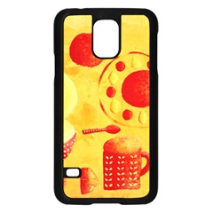 Lemons And Oranges With Bowls  Samsung Galaxy S5 Case (Black)