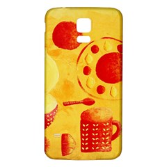 Lemons And Oranges With Bowls  Samsung Galaxy S5 Back Case (White)