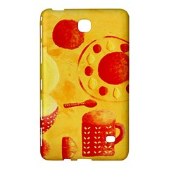 Lemons And Oranges With Bowls  Samsung Galaxy Tab 4 (7 ) Hardshell Case