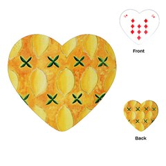Lemons Playing Cards (heart)