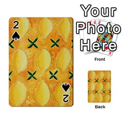 Lemons Playing Cards 54 Designs
