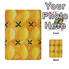 Lemons Multi-purpose Cards (Rectangle)