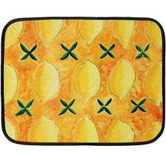 Lemons Fleece Blanket (Mini)