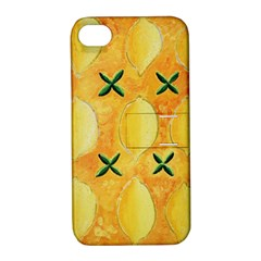 Lemons Apple iPhone 4/4S Hardshell Case with Stand