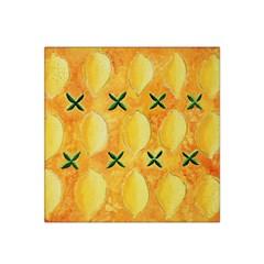 Lemons Satin Bandana Scarf