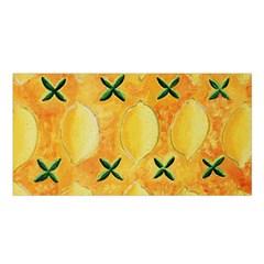 Lemons Satin Shawl